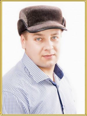 """Зимняя мужская шапка из нерпы """"Редут-2"""""""