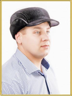 """Шапка из нерпы мужская """"Редут"""""""