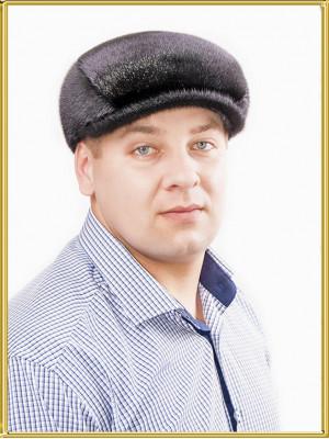 """Кепка из нерпы """"Реглан-3"""""""