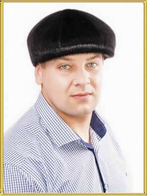 """Кепка из нерпы """"Восьмиклинка"""""""