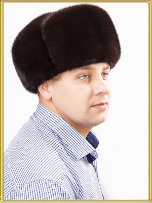 "Шапка ушанка норковая ""Классика СТК"""