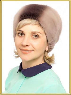 """Норковая шапка женская """"Аля"""""""