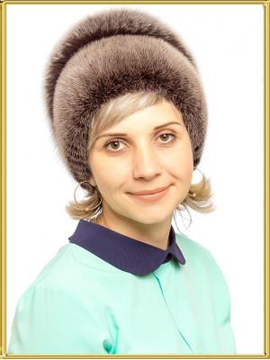 """Шапка из меха норки """"Мария-2"""""""