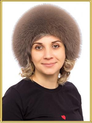 """Шапка из песца женская """"Кармен"""""""